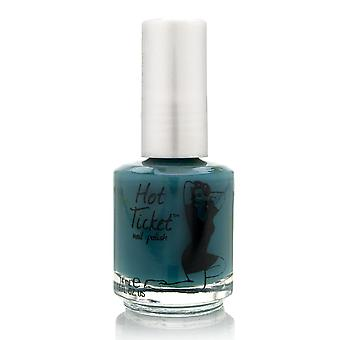 theBalm Hot Ticket Nail Polish Let's Make A Teal