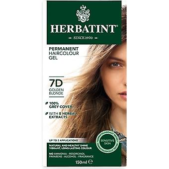 Herbatint, Golden Blonde Hair Colour 7D, 150ml