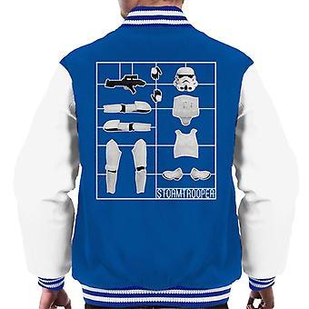 Varsity Jacket Stormtrooper Airfix uomini originali