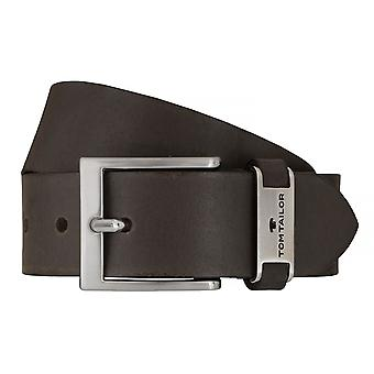 Jeans de TOM TAILOR correa cuero cinturones hombre cinturones cinturón marrón 7605