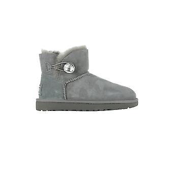 UGG W Mini Bailey Button Bling 1016554GREY universal winter women shoes