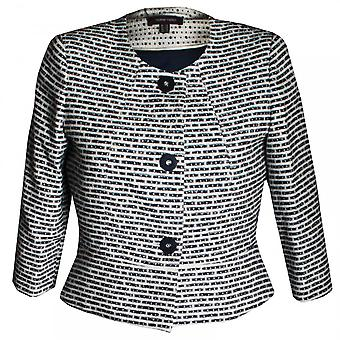 Marie Mero Blue Wave Women's Tweed Jacket