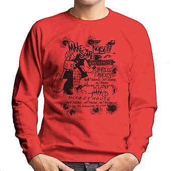 Disney Mickey Mouse Band maken sommige lawaai mannen Sweatshirt