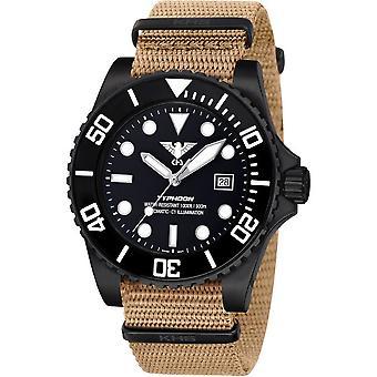 KHS heren horloge KHS. TYBSA. NT Automatic, duiker horloge