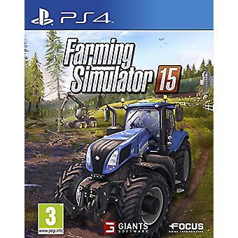 Simulatore di agricoltura 15 (PS4) - Fabbrica sigillata