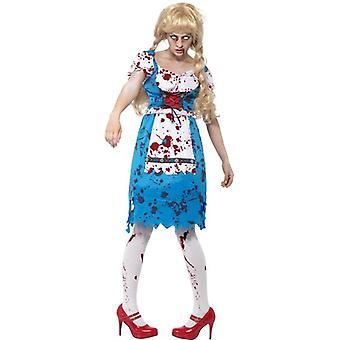 Zombie bavaroise Costume Femme