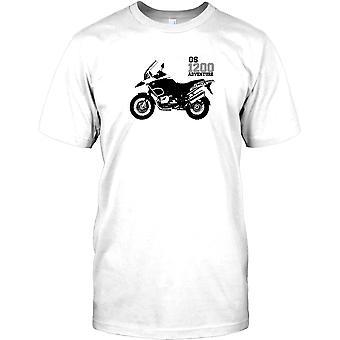 BMW GS1200 Abenteuer - rund um die Welt Legende Kinder T Shirt