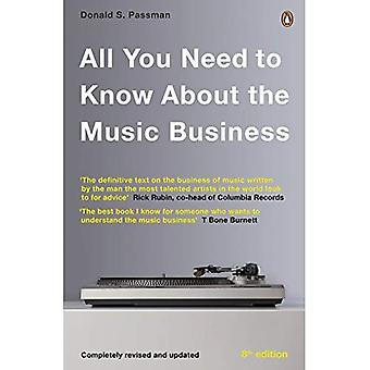 All You Need To Know About The Music Business : Huitième édition
