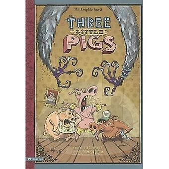 Die drei kleinen Schweinchen: Die Grafik Roman (grafische Spin)