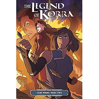 La légende de Korra, le: Turf Wars Part Two (broché)