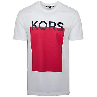 Michael Kors  White Logo T-Shirt