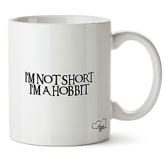 Hippowarehouse I'm Not Short I'm A Hobbit 10oz Mug Cup