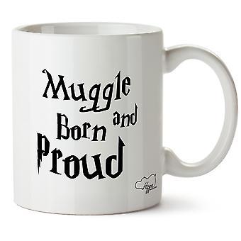 Hippowarehouse Moldus nés et fier Mug imprimé tasse céramique 10oz