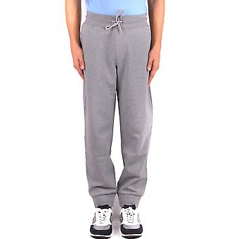 Fay Ezbc035048 Men's Grey Cotton Joggers