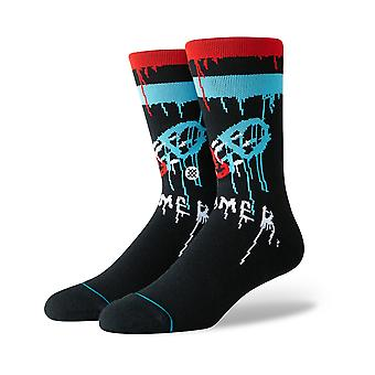 Stance The Bomb Crew Socks in Black