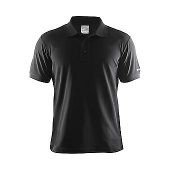 Craft Mens Pique Classic 100% Polyester Polo Shirt