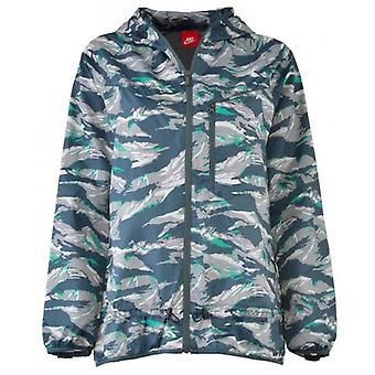 Nike Women's Packable Camouflage Trail Running Jacket 546390-338