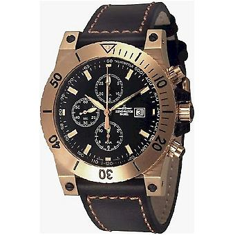 Zeno-watch mens watch muscles retro chronograph limited edition 8023TVD-Pgr-i1