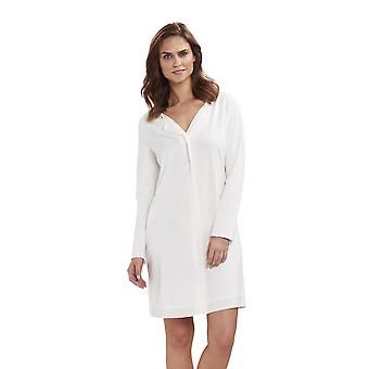 Féraud 3883136 Women's High Class Cotton Sleep Shirt Nighty Nightshirt