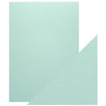 Craft Perfect von Tonic Studios A4 Classic Card Arctic Blue | Pack von 5