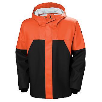 Helly Hansen mens Storm waterdichte regen workwear jas