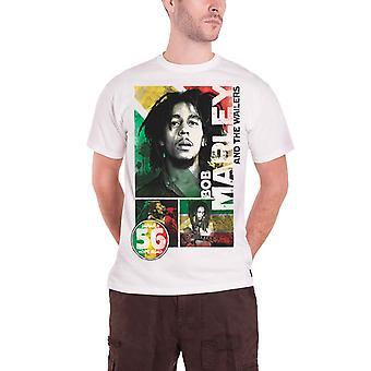 Bob Marley T paita 56 Hope Road Rasta Jamaica uusi virallinen miesten valkoinen