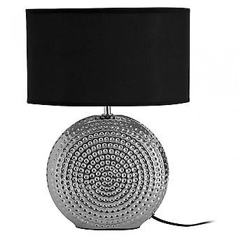 Premier hem bordslampa, keramisk, svart