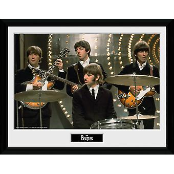 Beatles Live inramade Collector Print 40x30cm