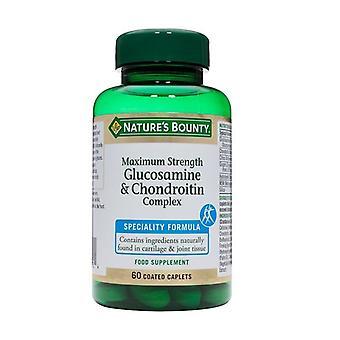 Nature's Bounty Maximum Strength Glucosamine & Chondroitin Complex 60 (N41631)