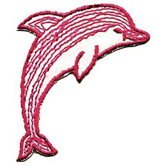 Patch - Animals - Dolphin Iron On Gifts New Licensed p-0136