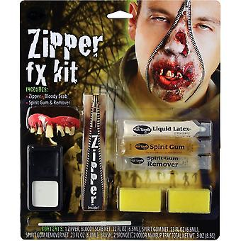 Zipper Character Make Up Kit Zombie