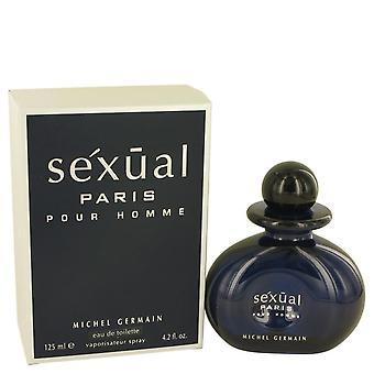 Seksuele paris eau de toilette spray door michel germain 535169 125 ml