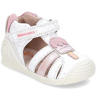 ביו-מקאניקה 192121 192121BBLANCO אוניברסלית נעלי תינוקות בקיץ