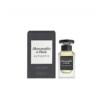 Abercrombie & Fitch Authentic Man Eau de Toilette 50ml EDT Spray