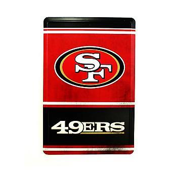 San Francisco 49ers NFL Team Logo Tin Sign