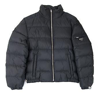 Prada Piumino nylon Piuma puffer Jacket Nero