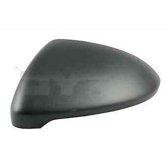 Left Mirror Cover (black grained) For Volkswagen GOLF SPORTSVAN 2014-2018