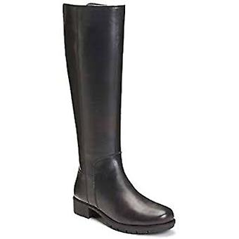 Aerosoles bare 4 du rir støvler svart skinn 6M