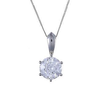 Ivy Gems Woman 9-karat White Gold Not Colored Zirconia Cubic FINENECKLACEBRACELETANKLET
