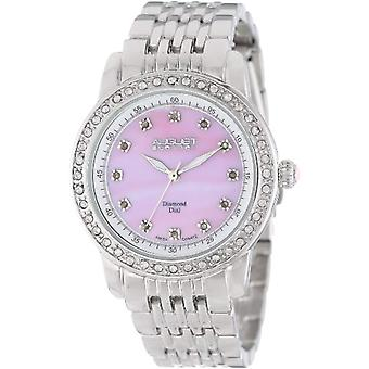 August Steiner, Crystal and diamonds ct bracelet quartz watch (1)