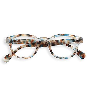 IZIPIZI #c Blue Tortoise Reading Glasses