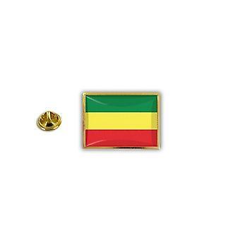 Pins Pin Badge Pin's Metal Broche Pince Papillon Drapeau Ancien Ethiopie