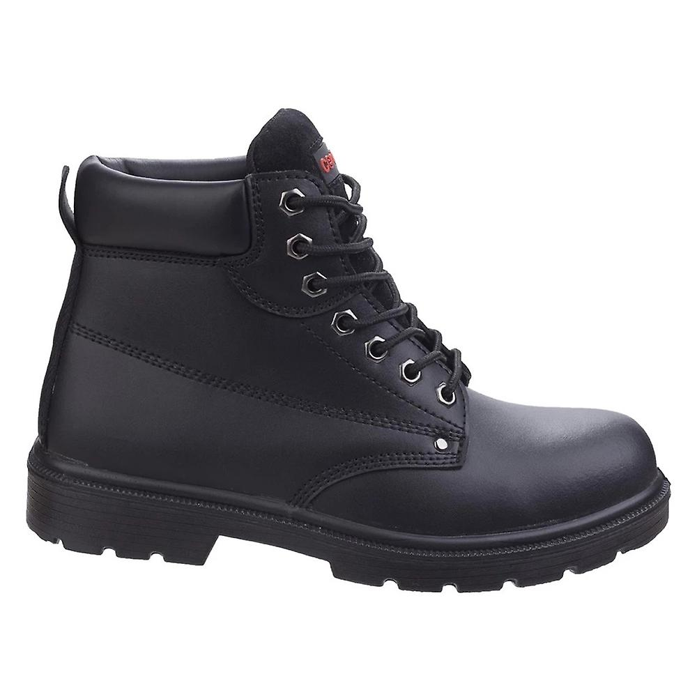 Centek Mens Fs331 Classic Ankle S3 Lace Up Leather Safety Boots