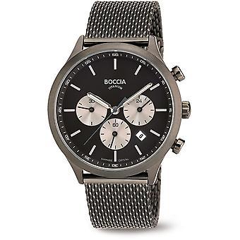 Boccia Titanium 3750-06 Watch Men ' s