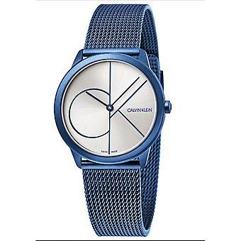Calvin Klein K3M52T56 Minimal Collection Blue Wristwatch