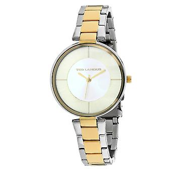 Ted Lapidus Women's Classic Silver / Gold Dial Watch - A0672BBIX