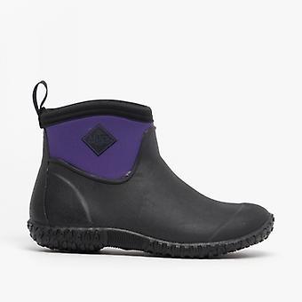 Muck Boots Muckster Ii glezna Doamnelor impermeabil cauciuc Boots negru / violet