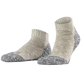 Falke Lodge Homepad tøffel sokker-lysegrå/fløde
