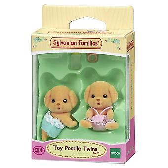 Sylvanian Families - Toy Poodle Twins Toy