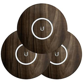 Ubiquiti UniFi NanoHD Skin Casing Wood Design 3 Pack